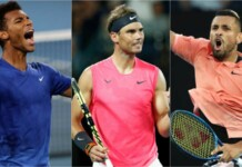 Felix, Nadal and Kyrgios
