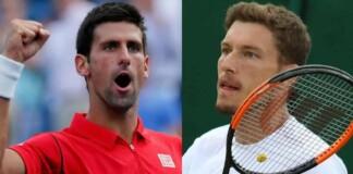 Novak Djokovic and Pablo Carreno Busta