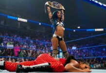 Sasha Banks returned to seek for a rematch