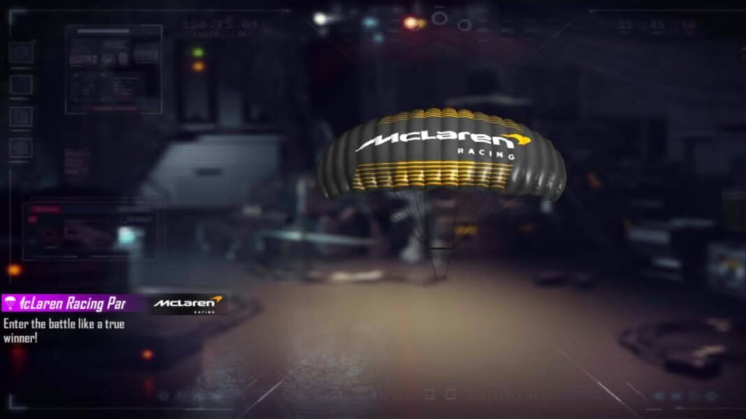McLaren Racing Parachute skin