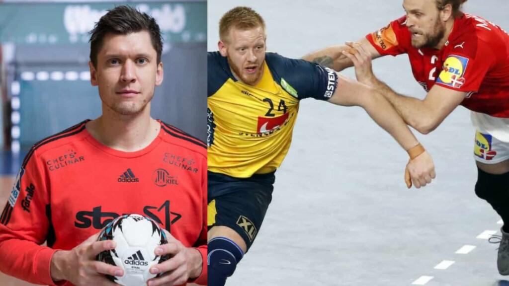 Denmark vs Sweden men's handball