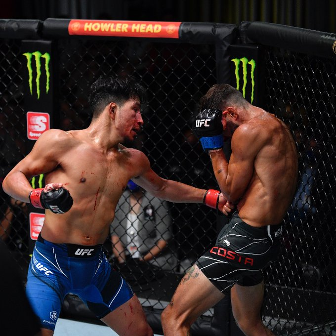 UFC Vegas 32: Adrian Yanez stops Randy Costa via TKO in the second round »  FirstSportz