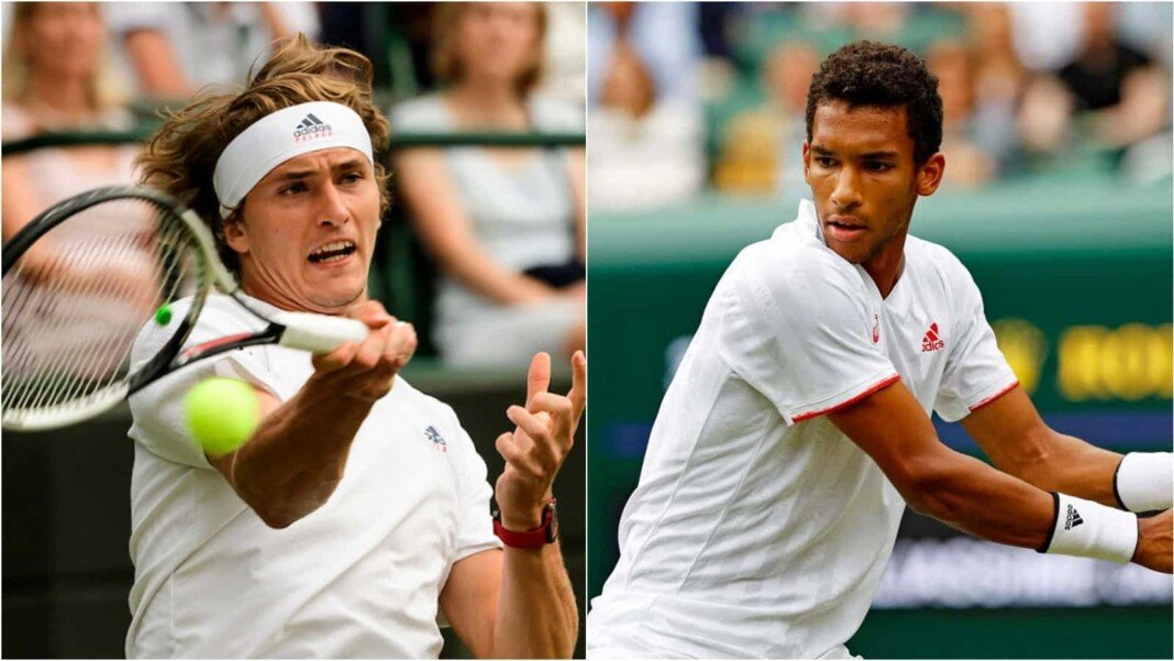 Alexander Zverev and Felix Auger-Aliassime will be clashing in the 4th round of Wimbledon 2021