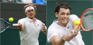 Alexander Zverev vs Taylor Fritz will clash in the 3rd round of the Wimbledon 2021
