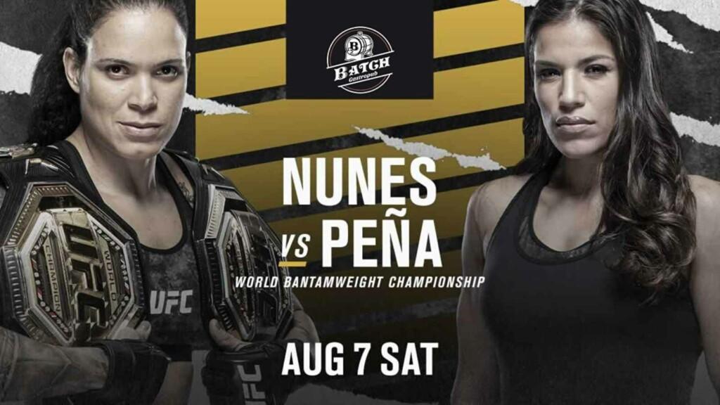 Amanda Nunes vs Julianna Pena
