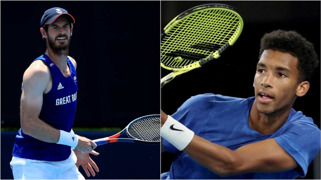 Andy Murray vs Felix Auger-Aliassime will clash in the 1st round of the Tokyo Olympics 2020