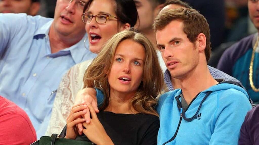 Andy Murray with Kim Sears