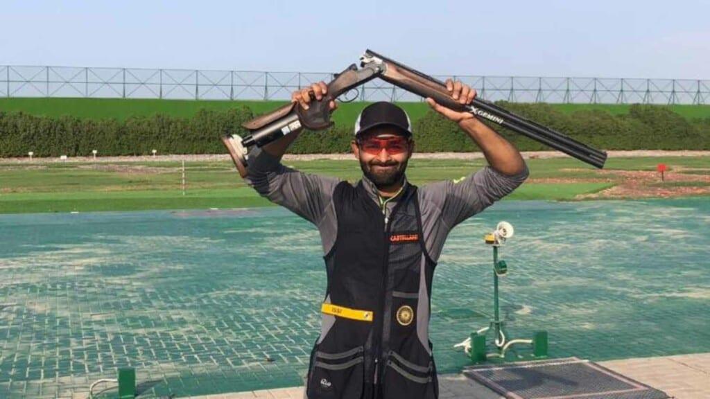 Angad Vir Singh Bajwa is part of India's Skeet Team at Tokyo Olympics