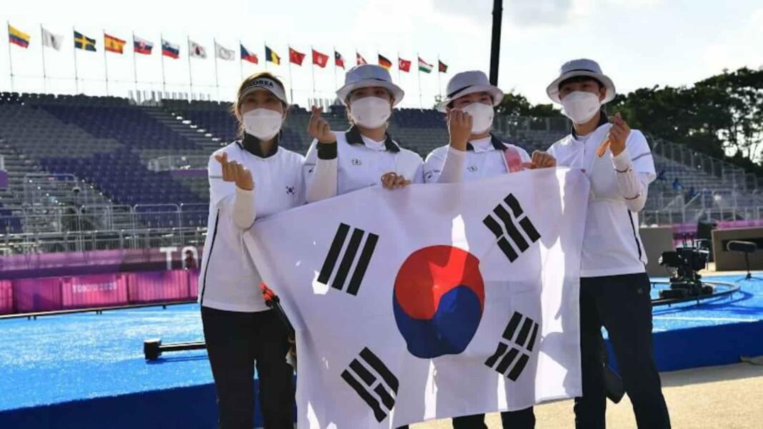 Archery at Tokyo Olympics, South Korean Archery Team