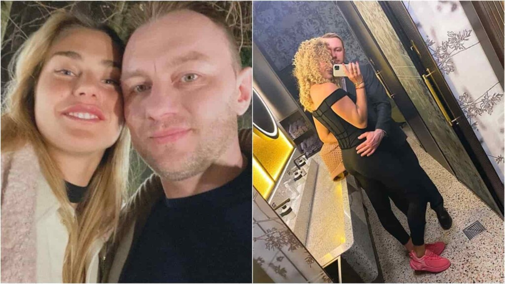 Aryna Sabalenka and Konstantin Kolstov