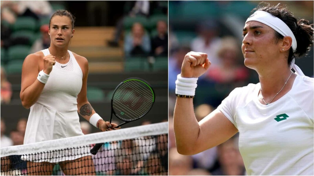 Aryna Sabalenka vs Ons Jabeur will clash in the quarter-finals of the Wimbledon 2021