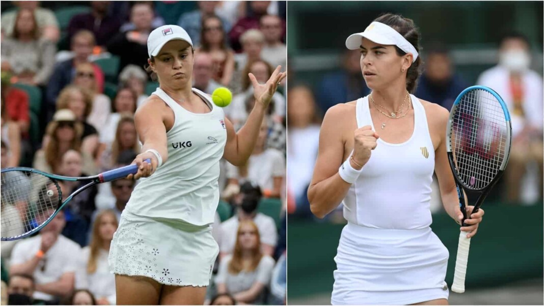 Ashleigh Barty vs Ajla Tomljanovic will clash in the quarter-finals of the Wimbledon 2021