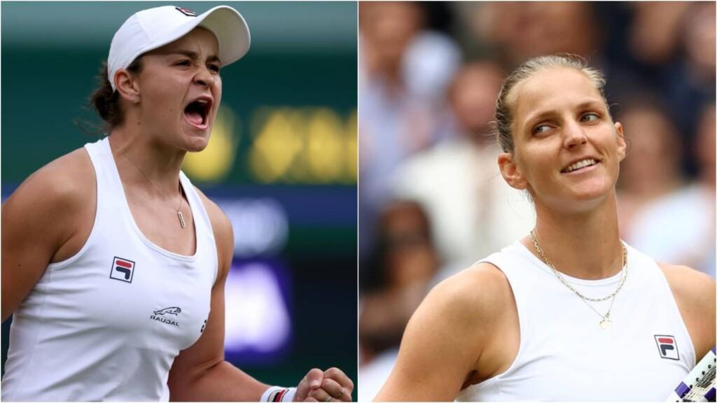 Ashleigh Barty vs Karolina Pliskova will clash in the finals of the Wimbledon 2021