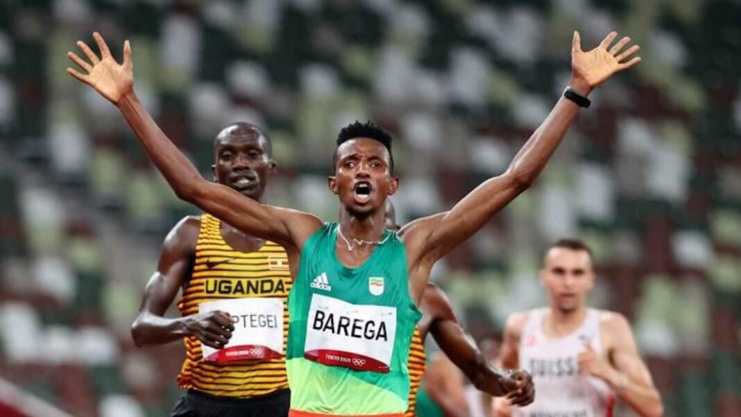 Athletics at Tokyo Olympics; men's 10000m finals