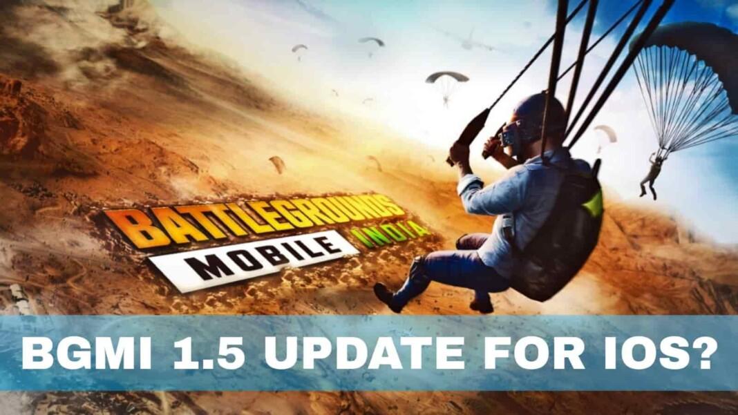 BGMI 1.5 update for iOS