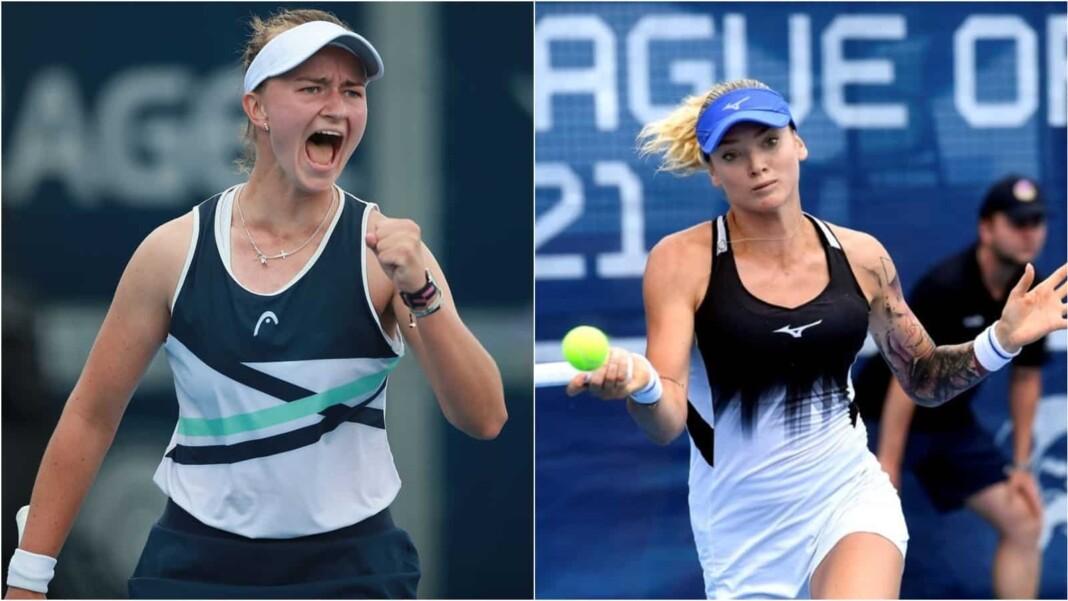 Barbora Krejcikova vs Tereza Martincova will clash in the finals of the WTA Prague Open 2021