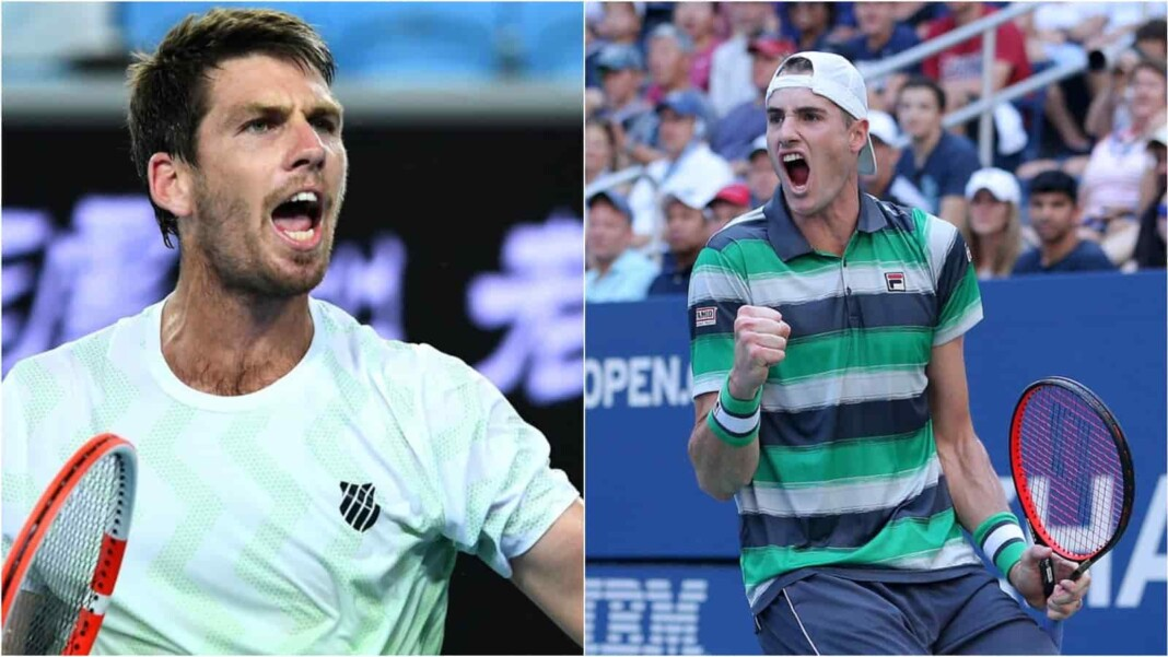 Cameron Norrie and John Isner
