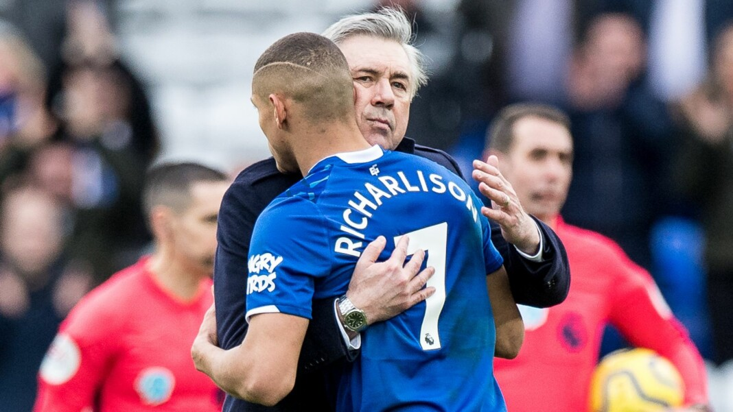 Carlo Ancelotti and Richarlison