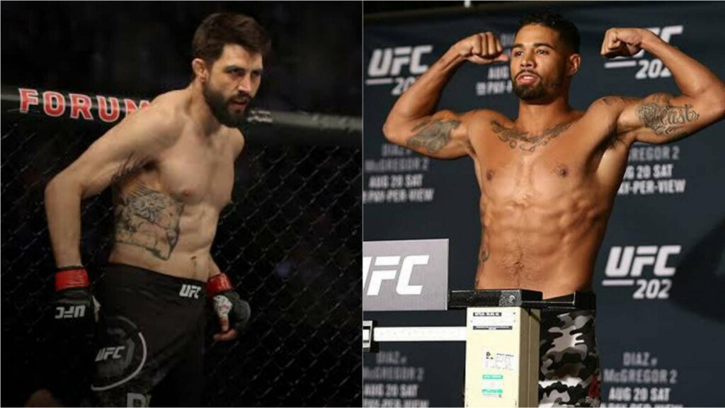 Carlos Condit and Max Griffin