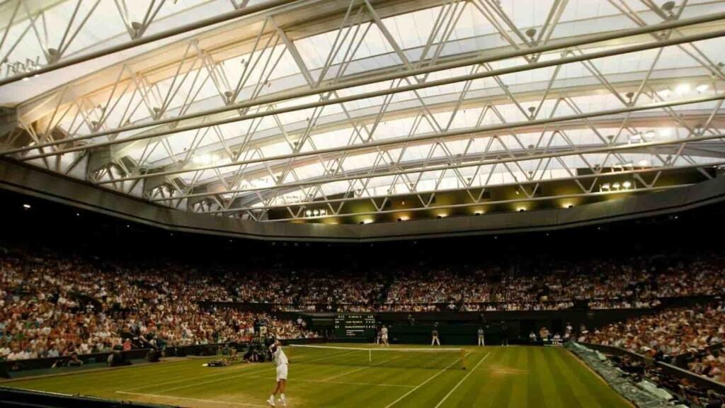 Centre Court Wimbledon 2021