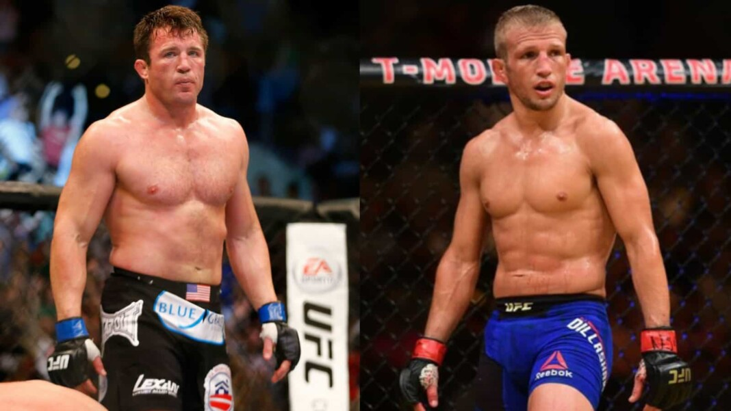 Chael Sonnen and TJ Dillashaw