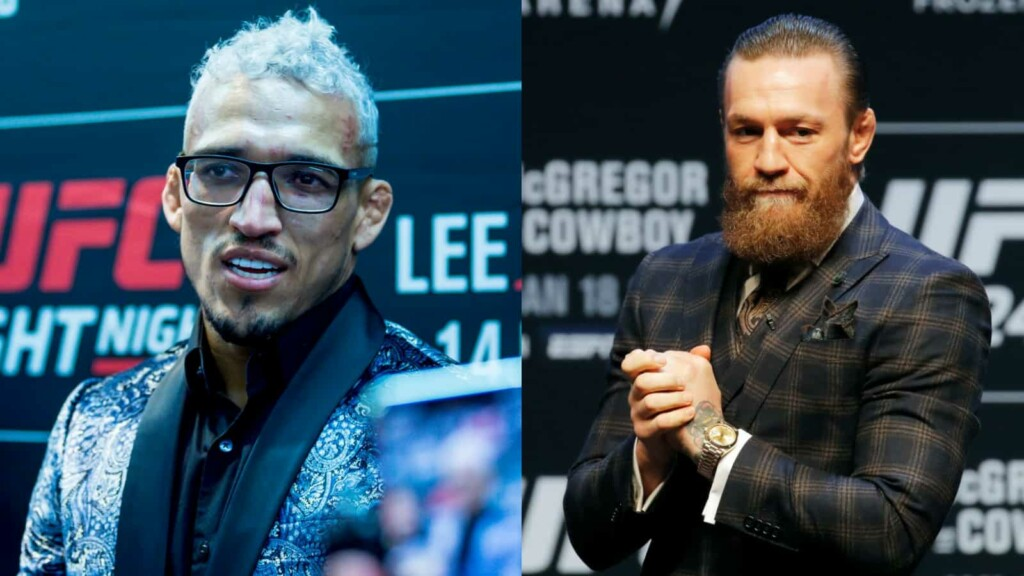 Charles Oliveira and Conor McGregor