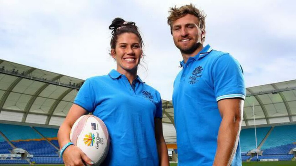 Charlotte Caslick and Lewis Holland