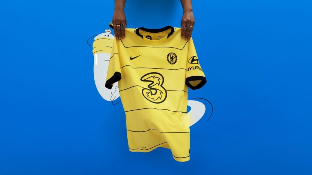 Chelsea reveal their new Nike away kit for the upcoming 2021/22 season