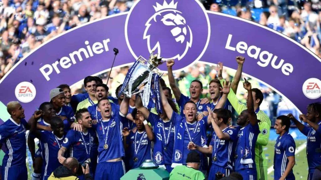 Chelsea' Premier League winning season in 2016-17