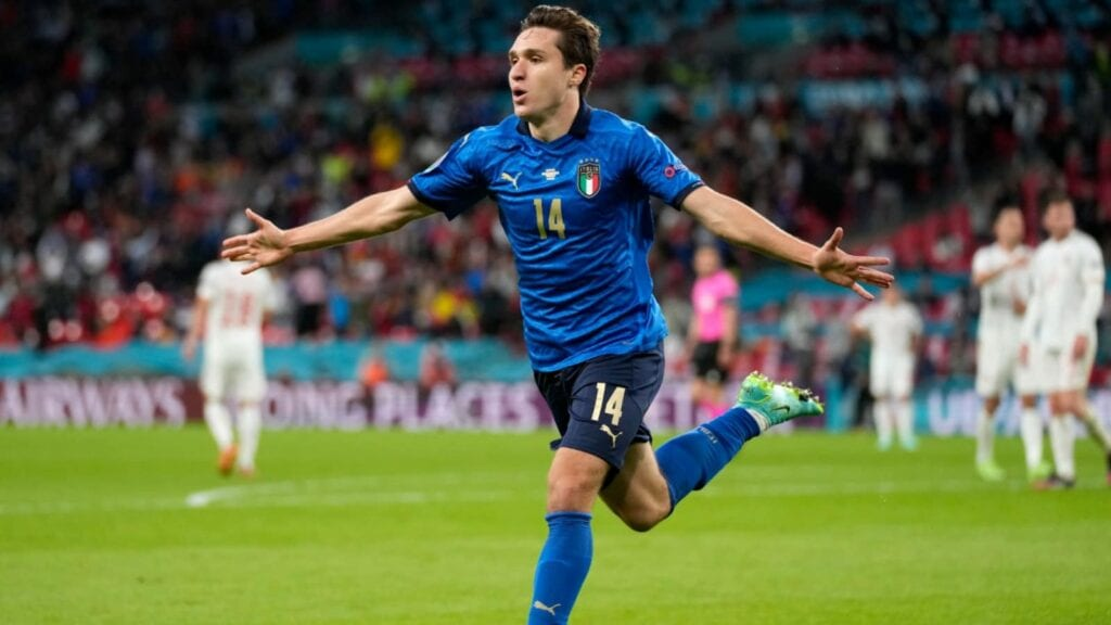 Chiesa had a stellar outing at the EUROs for Italy