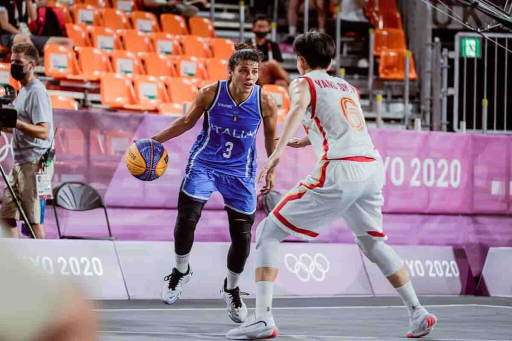 China Beat italy 19 13 To Advance into Womens 3v3 Basketball Semi Finals 1 - FirstSportz