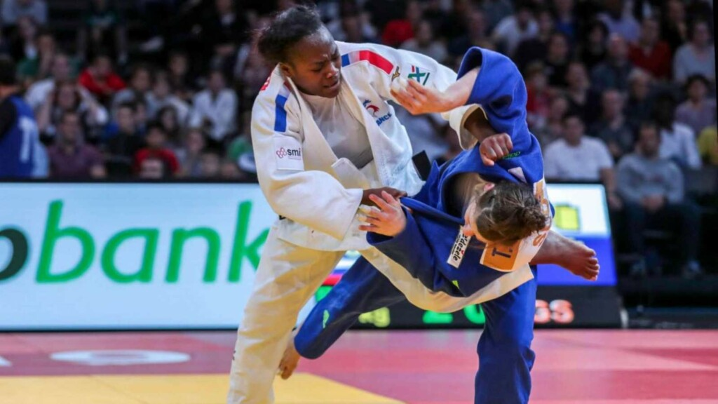 Clarisse Agbegnenou Tokyo Olympics