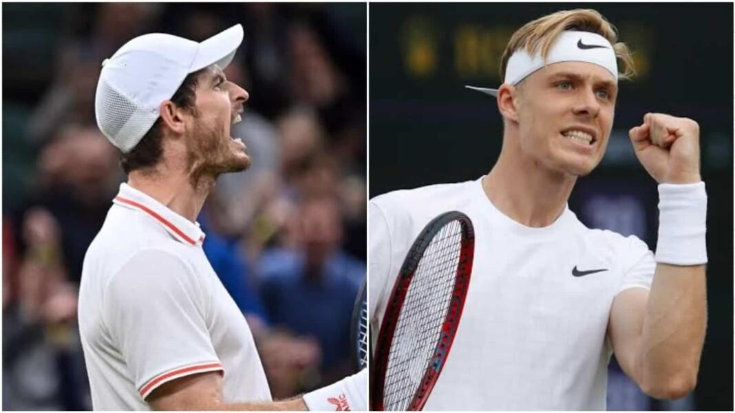 Andy Murray and Denis Shapovalov