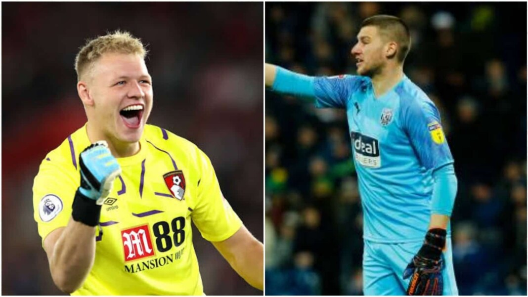 Aaron Ramsdale and Sam Johnstone