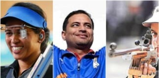 India's 50m Rifle Team at Tokyo Olympics