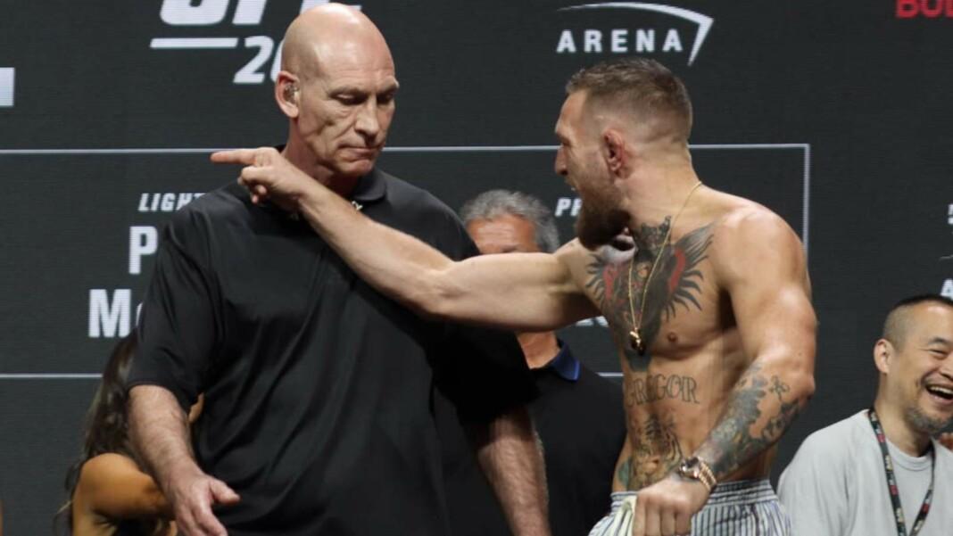 Conor McGregor UFC 264 weigh ins