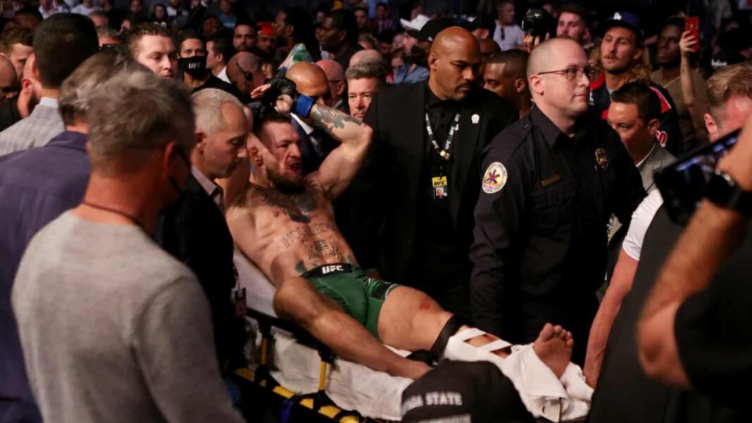 Conor McGregor at UFC 264