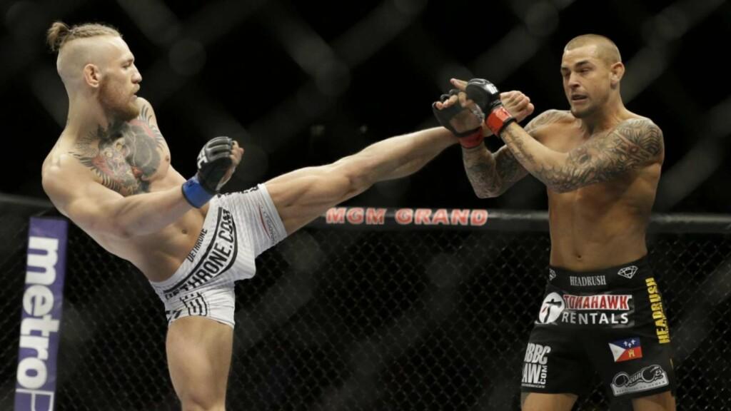 Conor McGregor vs Dustin Poirier 1