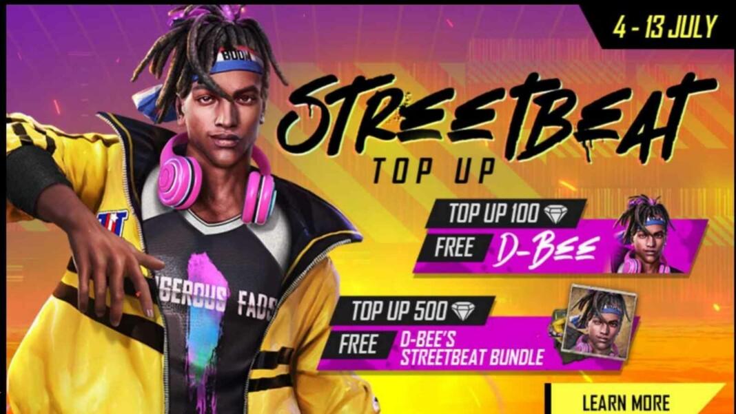 D-Bee Streetbeat Bundle in Free Fire