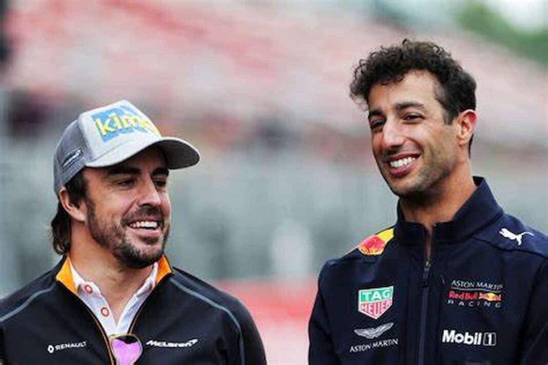 Daniel Ricciardo on Fernando Alonso's Racecraft