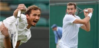 Daniil Medvedev vs Marin Cilic will clash in the 3r round of the Wimbledon 2021
