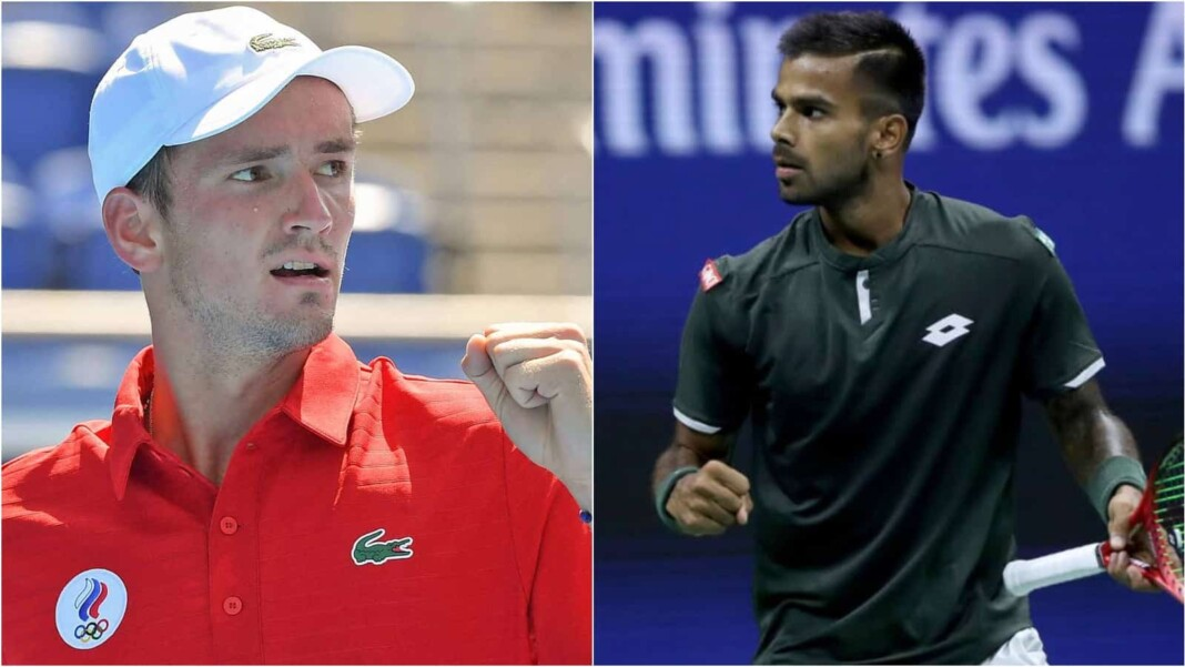 Daniil Medvedev vs Sumit Nagal will clash in the 2nd Round of the Tokyo Olympics 2020
