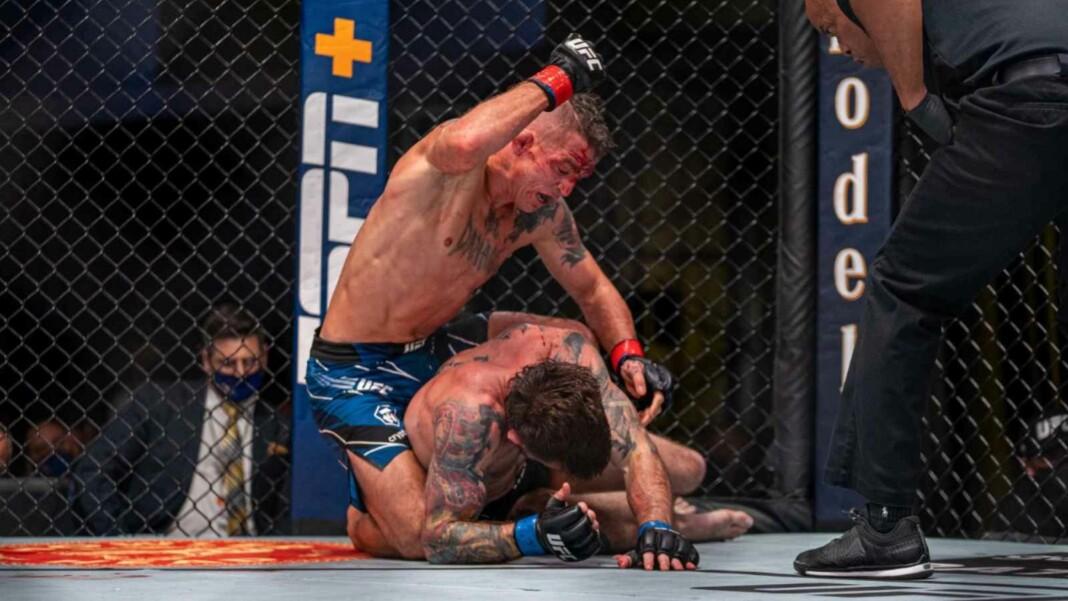 Darren Elkins at UFC Vegas 32