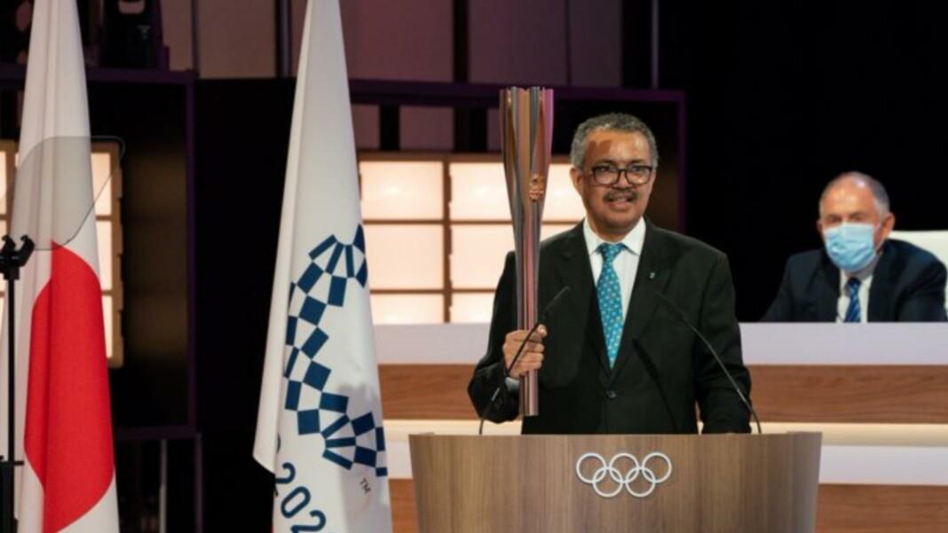 Dr. Tedros Adhanom Ghebreyesus addressing the IOC