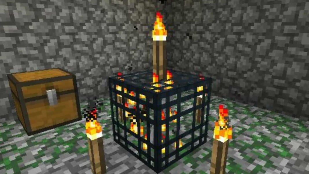 Dungeon in Minecraft