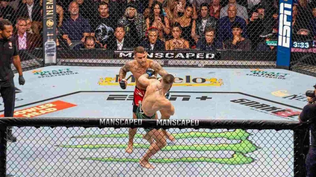 Dustin Poirier UFC 264