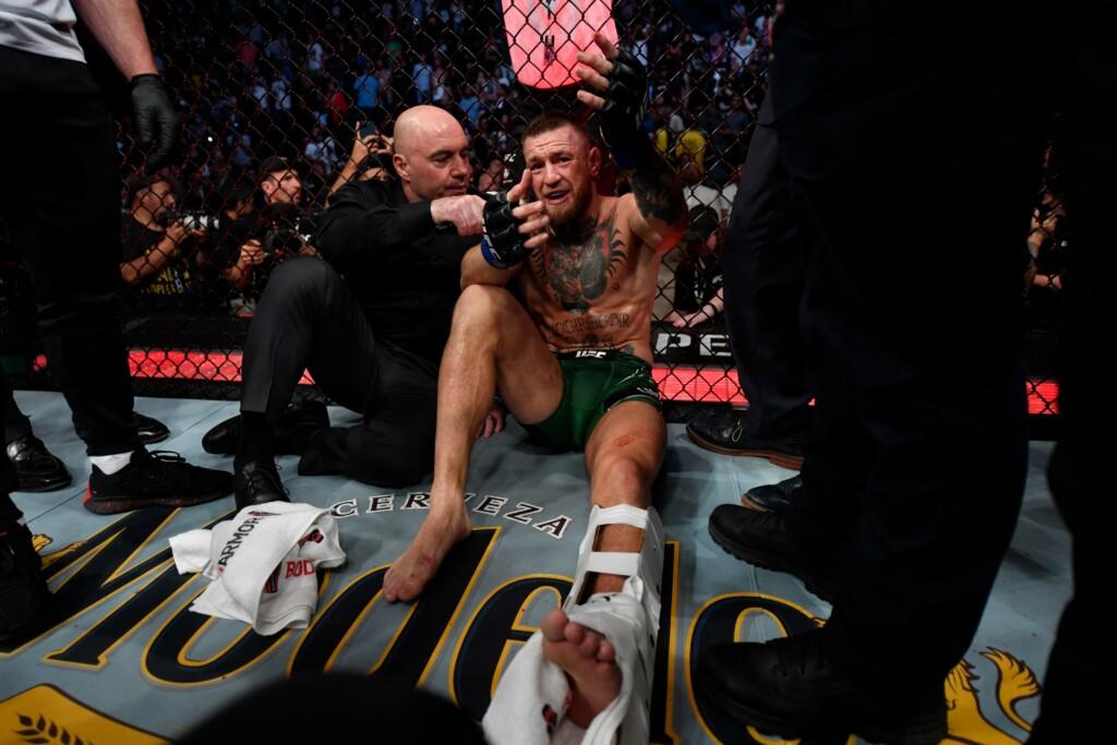 Conor McGregor ankle break UFC 264