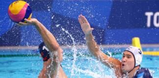 Water Polo at Tokyo Olympics Greece vs Serbia