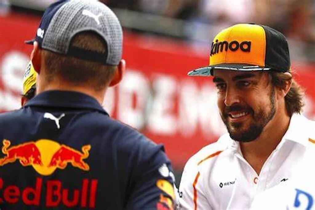 Fernando Alonso on Max Verstappen