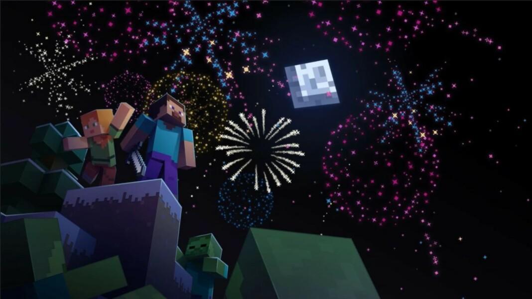 Firework Rocket in Minecraft